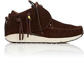 Visvim Men's FBT Lhamo-Folk Suede Moccasin Sneakers