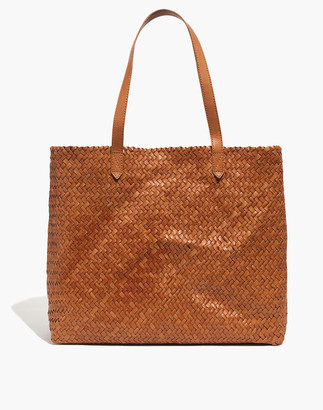 Madewell The Transport Tote: Woven Leather Edition