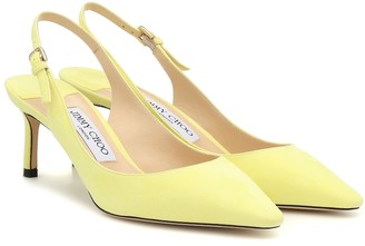 Jimmy Choo Exclusive to Mytheresa Erin 60 suede slingback pumps