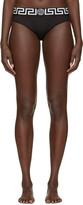 Versace Underwear Black Medusa Briefs