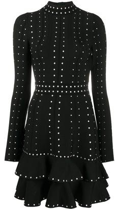 Sandro Asya stud-embellished dress
