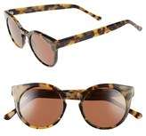 Komono Women's Lulu 48Mm Sunglasses - Black Marble