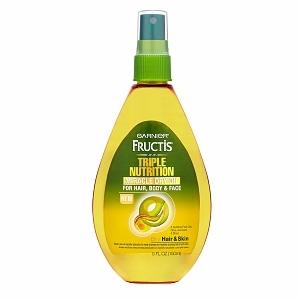 Garnier Fructis Haircare Triple Nutrition Miracle Dry Oil for Hair, Body, & Face