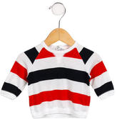 Petit Bateau Boys' Striped Long Sleeve Shirt
