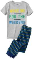 Crazy 8 Weekend 2-Piece Pajama Set