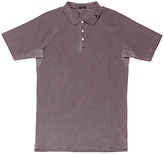 Denham Laundered Polo Shirt, Mulberry