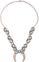 Natalie B Naja Squash Blossom Necklace