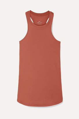 Nike Studio Ribbed Dri-fit Tank - Antique rose