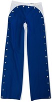 Viktor & Rolf Blue Cotton Trousers for Women Vintage