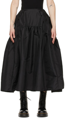 Cecilie Bahnsen Black Lilly Skirt