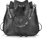 DSQUARED2 Babe Wire Black Leather Backpack