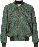 Coohem tweed bomber jacket - men - Cotton/Acrylic/Nylon/Wool - 46
