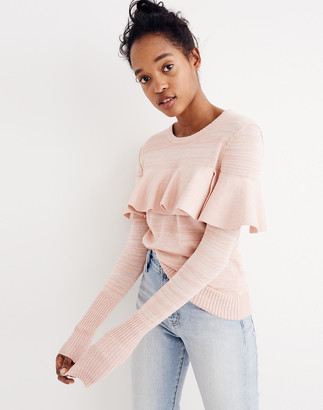 Madewell Apiece Apart Ruffled Sweater