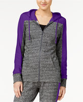 Material Girl Active Juniors' French Terry Colorblocked Hoodie, Only at Macy's