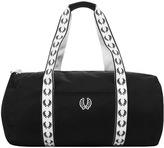 Fred Perry Classic Track Barrel Bag Black