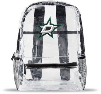 clear Dallas Stars Team Logo School Bag