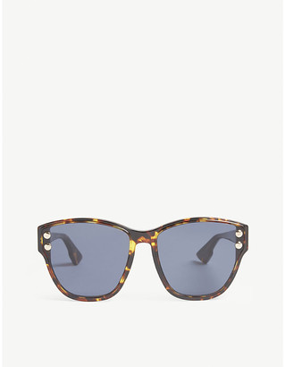 Christian Dior DiorAddict3 Havana cat-eye sunglasses