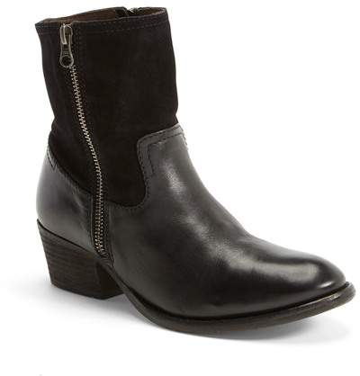 H By Hudson Riley Leather Ankle Bootie