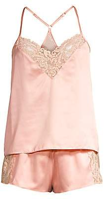 In Bloom Women's Persuasion Two-Piece Satin Cami sole & Shorts Sleep Set