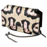 Givenchy Bow Cut Beige Leather Clutch bags