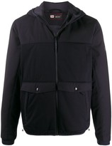 Z Zegna zip-up hooded jacket