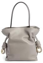 Loewe Flamenco Knot Lambskin Leather Bag - Grey