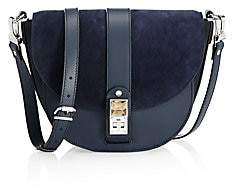 Proenza Schouler Women's Medium PS11 Leather & Suede Saddle Bag