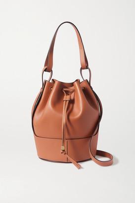 Loewe Balloon Medium Leather Bucket Bag - Tan