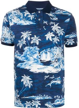 Polo Ralph Lauren tiki piqué polo shirt