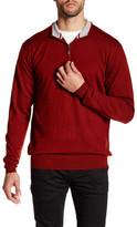 Peter Millar Merino Wool Quarter Zip Pullover