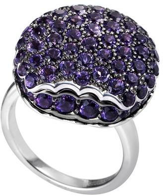 Heritage Boucheron Boucheron 18K 3.85 Ct. Tw. Diamond Tentation Macaron Ring