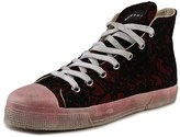 Gienchi Ganb Round Toe Canvas Sneakers.