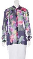 Matthew Williamson Silk Floral Top