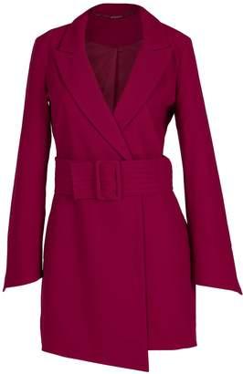 Louise Black Raspberry High Heeled Blazer Dress