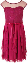 Speechless Illusion Sequin Lace Dress, Girls (7-16)