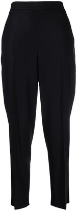 Salvatore Ferragamo Tailored Tapered Cropped Trousers