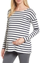 Isabella Oliver Women's Caia Stripe Maternity Top