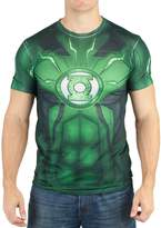 Bioworld DC Comics Mens Lantern Suit Up Sublimated Costume T-shirt L