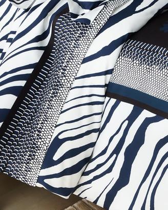 Roberto Cavalli Frame Zebrage Queen Duvet Cover