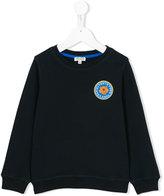 Kenzo front logo sweatshirt - kids - Cotton - 3 yrs