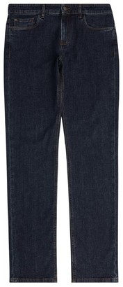 Canali Mid-Wash Regular Jeans