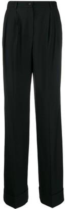 Dolce & Gabbana High-Waisted Flared Trousers