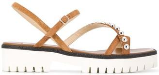 Jimmy Choo Desi crystal-embellished sandals