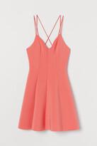 H&M Scuba Dress - Red