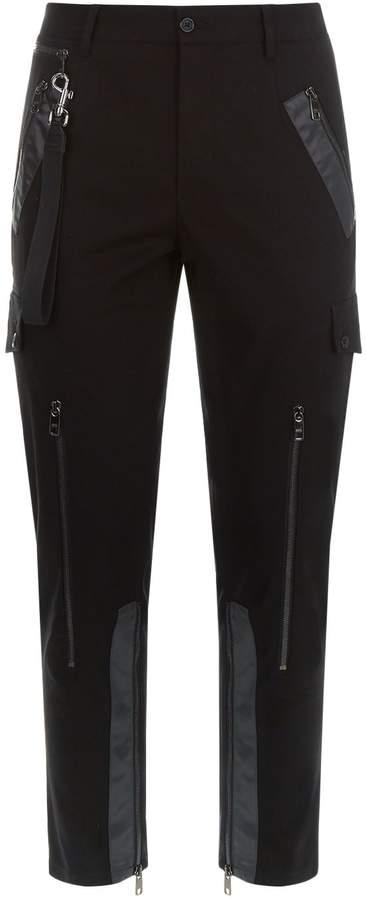 Dolce & Gabbana Zipped Utility Trousers