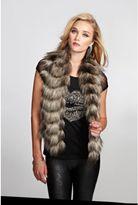 GUESS Fab Faux-Fur Vest