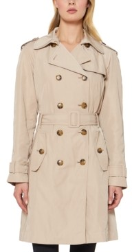 Kate Spade Double-Breasted Belted Trench Coat