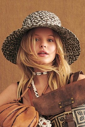 Free People Grotto Straw Bucket Hat