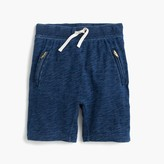 J.Crew Girls' pull-on sweatshort with zips
