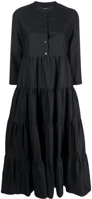 Aspesi Tiered Midi Dress